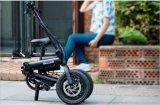 Frame da bicicleta elétrica da dobra fácil de 12 polegadas/liga de alumínio/bicicleta da cidade/veículo eléctrico de alta velocidade/bicicleta variável da velocidade/única bicicleta da velocidade