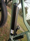 bicicleta elétrica de alumínio Ebike do indicador En15194 Hongdu do LCD da liga do motor sem escova do freio de disco da bateria de lítio da bicicleta En15194 de 36V 500W E