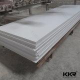 superfície contínua acrílica branca antipoluição de 12mm para o painel de parede