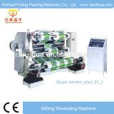 Roulis de papier à grande vitesse fendant des machines