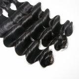 De Braziliaanse Losse Bundels van het Menselijke Haar van het Haar van het Weefsel Maagdelijke Goedkope Zijdeachtige 3