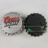 병 마개 LED 접어젖힌 옷깃 핀 (3569)를 인쇄하는 승진 선물