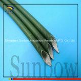 Sunbow Selbst erlöschen UL-Silikon-Harz-Fiberglas Sleeving