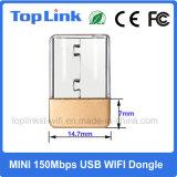 El programa piloto libre MTK MT7601 mini 150Mbps 802.11n fácil lleva a OEM sin hilos del soporte del Dongle del USB WiFi