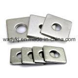 De vierkante Fabriek van Wasmachines van Schroef 304 DIN 436 van het Roestvrij staal van China