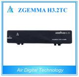 Receptor satélite da tevê de Zgemma H3.2tc DVB-S2+2X DVB-T2/C Digitas do decodificador da tevê de Multistream
