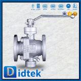 Didtek 구획과 블리드 기능 탄소 강철 포이 공 벨브