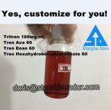 acetato liquido Tren Enanthate Tren Hexahydrobenzylcarbonate di Parabolan Tritren Tren dell'olio iniettabile 180mg/Ml