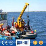 油圧望遠鏡ブームの船の販売のための海洋のはしけクレーン