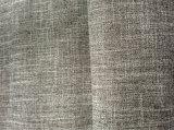 100% poliéster imitación de la tela de lino Tela de tapicería del sofá para Textiles para el hogar