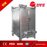 Tanque de aço inoxidável retangular de tanque de fermentação do produto comestível