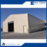 직류 전기를 통한 환경 친절한 가벼운 프레임 강철 구조물 창고를 조립한다
