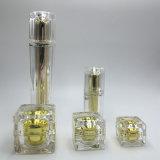 Lámina para gofrar caliente de la botella de acrílico de cristal del maquillaje