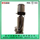Vanne pneumatique antidéflagrante inox Dn50 en acier inoxydable avec corps à vanne monobloc