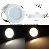 Dimmable SMD2835 nehmen runde Decken-Lampe des LED-Panel-7W 12W 18W mit Cer-BIS ab