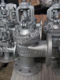 Tipo valvola d'arresto di angolo del acciaio al carbonio di standard J44h di BACCANO della valvola di globo per industria chimica