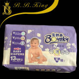 Couche-culotte de bébé de serviette hygiénique de couche