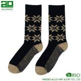 Großhandelswinter-kundenspezifische Merinowolle-Socken