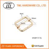 Inarcamento quadrato dell'anello di Iroon di colore dorato per i sacchetti