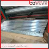 Placa de material para techos galvanizada calidad primera del metal