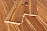 Suelo de bambú dirigido tejido hilo de Desgastar-Resistencia de la base del grano HDF del tigre