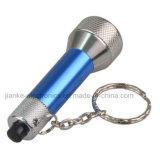 Горячий подарок проблескивая СИД Keychain промотирования надувательства (3033)