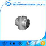 ISO4144 150lbs Bspのステンレス鋼は管付属品-ホースのニップルねじで締めた