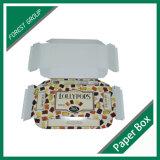 Rectángulo de lujo impreso aduana del caramelo de la cartulina