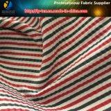 Windung, Polyester/Nylonstreifen-Garn gefärbtes Gewebe für Hemd