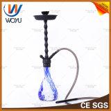 Tener tazón de fuente de cristal del alto de la cachimba de la oxidación del proceso del torbellino del humo de la cachimba de Shisha rectángulo de aluminio del tabaco