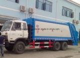 Dongfeng 6X4 10の車輪のごみ収集車頑丈な20トンのコンパクターの