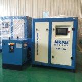 compressor de ar giratório gêmeo silencioso elétrico do parafuso de 220V 415V 480V 380V (dirigir conduzido)