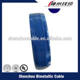 O fio isolado PVC elétrico flexível, a máquina isolada PVC do fio de cobre, PVC isolou o fio de cobre