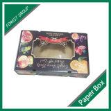 Rectángulo de empaquetado de la fruta de la ventana del PVC (FP8039124)