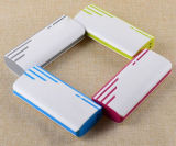 LED 플래쉬 등 휴대용 힘 은행을%s 가진 다채로운 3배 외부 충전기
