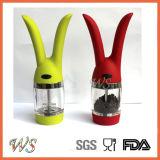Ws-Pgs013 Estilo Moda Sal Conejo y Manual de molino de pimienta Conjunto Pepper Grinder Conjunto
