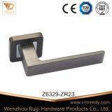 Punho de alça de cromo high-end com alças de alça tipo quadrado
