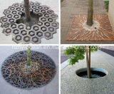Fo-9t05 Square Corten Steel Tree Perforated Strainer for Wholesale