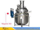 Réservoir de mélange à vide en acier inoxydable 1000liter avec Atitator à fond