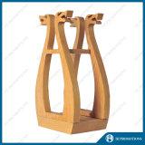Boîte d'affichage en bouteille de vin en bois (HJ-PWTY01)