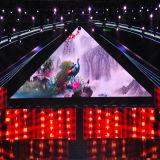 Farbenreiche P4.8 HD Innen-LED-Bildschirmanzeige für Mietstadium