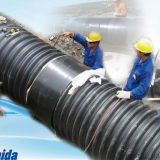 Chemise de rétrécissement de chaleur anti-corrosive de fermeture de joint soudé
