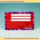 Пластичная карточка доступа члена клуба с размером кредитной карточки