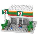 los bloques huecos de la serie del restaurante del tema del kit del bloque 14889313-Micro fijaron el juguete educativo creativo 230PCS - Kfc de DIY