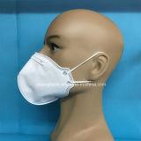 Máscara del respirador del polvo del Anti-Polvo Ffp2 con dimensión de una variable plegable