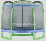 Kind-Hexagon-Trampoline mit Trampoline-Sicherheitsnetz für Verkauf
