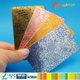Atacado Custom printing plastic PVC gift card with card holder
