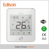 Термостат комнаты WiFi дистанционный для топления & системы охлаждения катушки вентилятора