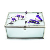 Contenitore di monili di vetro piegante poco costoso di alta qualità Hx-6372
