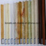 Cornicione d'angolo di marmo del PVC che modella per la decorazione della parete